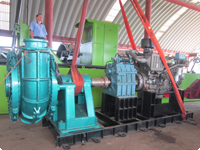Marine Engine for Dredger Boat